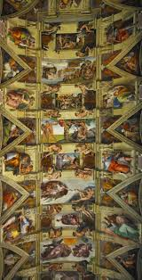 the ceiling of the sistine chapel deskarati