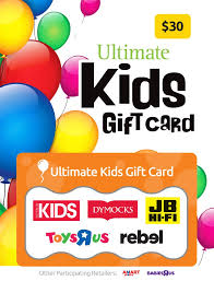 gift cards for kids the ultimate kids gift card one card so much