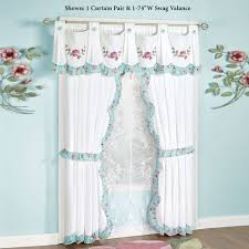 striped valances cafe touch class curtains