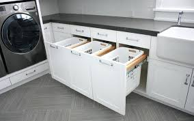 pull out baskets for bathroom cabinets pull out laundry basket made to sort pull down laundry basket