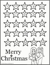 nativity advent calendar coloring pages calendar template
