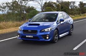 subaru blue 2017 2016 subaru wrx review manual u0026 cvt auto video performancedrive