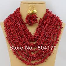 beaded coral necklace images Online cheap 10 40mm natural red coral necklace 17inch rare jpg