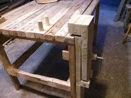 bench vise for woodworking woodworkers bench vise from an old cl 7 steps with pictures