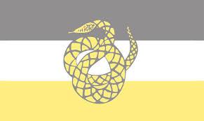 Yellow Flag With Snake Sigma Nu