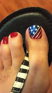 17 fourth of july toe nail designs for summer toe nail designs
