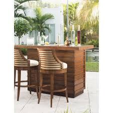 Tommy Bahama Dining Room Furniture Tommy Bahama 536 816 01 Ocean Club Cabana Swivel Bar Stool In Bali