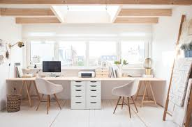 office for home 36 inspirational home office workspaces that feature 2 person desks