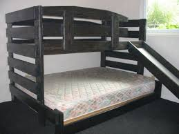 B TwinFull MidHeight Bunk The Bunk  Loft Factory - Height of bunk bed