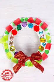 christmas craft for kids make a wreath