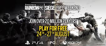 siege free free weekend on pc playstation 4 and xbox one details