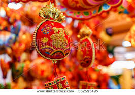 new year traditional decorations decorations traditional new year stock photo