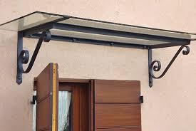 tettoia ferro battuto tettoie tettoie in ferro battuto a mano per porta ingresso e