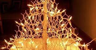 fancy christmas fancy for chickens wire christmas tree hometalk