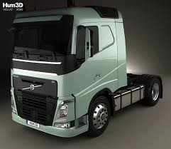 volvo truck sleeper cabs volvo fh 420 sleeper cab tractor truck 2 axle 2012 3d model hum3d