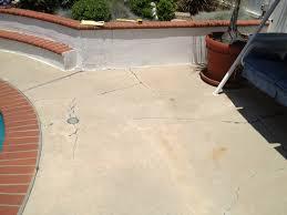 pool deck resurfacing fullerton concrete resurfacing deck repair