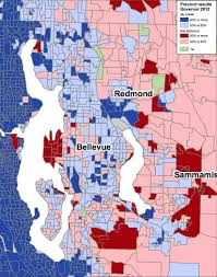 2012 Election Map by Precinct By Precinct Election Results For Governor I 502 I 1240