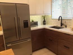 Kitchen Walnut Kitchen Modern Kitchen Horizontal Wall Cabinet