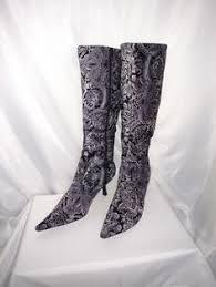 womens grey boots size 11 would you wear these patterned and printed boots printed would