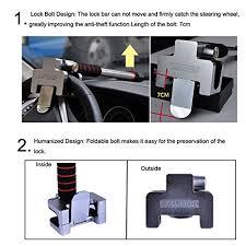 blocco volante auto freesoo blocco per volante auto oklock anti furto blocco per