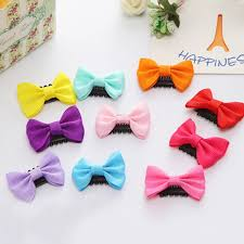 baby barrettes aliexpress buy 5 pcs lot candy color baby mini small bow