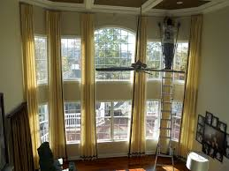Family Room Curtains Two Story Windows Window Treatments And Family Rooms With For Room