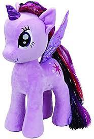 Baby Twilight Sparkle Ty90210 Plush Ty Beanie Baby My Pony