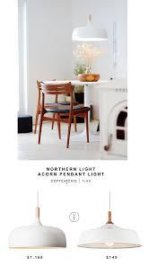 Cb2 Pendant Light by Northern Light Acorn Pendant Light Copycatchic