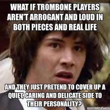Generate Meme - trombone meme generate a meme using conspiracy keanu music