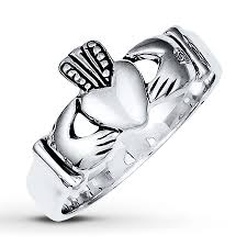 claddagh ring jared men s claddagh ring sterling silver