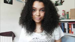 mixed race hair routine youtube