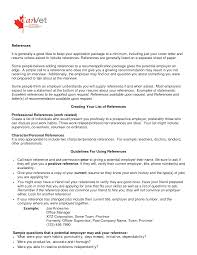 References On Resumes To Ask References On Resume