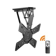 Swivel Ceiling Tv Mount by Remote Control Motorised Flip Down Tv Ceiling Mount U2014 Lithe Audio