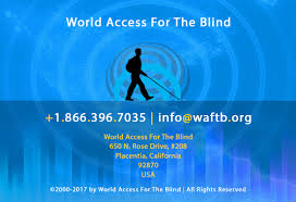 How Does A Blind Person See The World World Access For The Blind Our Vision Is Sound Perceptual