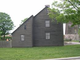 Saltbox Architecture Greenfield Village Open Air Museum Daggett Farmhouse Formerly