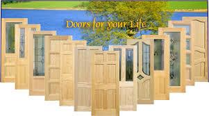 Exterior Pine Doors Goede Pine Doors Knotty Clear Primed Pine Www Goede Br