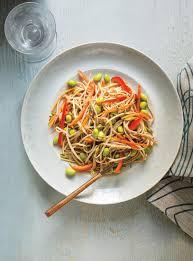 ricardo cuisine com soba noodle edamame pepper and bean sprout salad ricardo