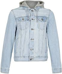 jean sweater jacket topman light wash hooded denim jacket where to buy how to wear