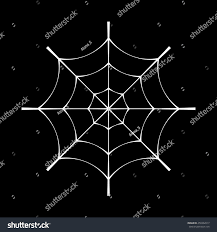 halloween black background image spider web clip white cobweb element stock vector 450362017
