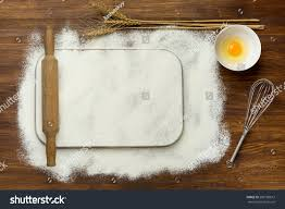 Wooden Kitchen Table Background Rural Vintage Wood Kitchen Table Blank Stock Photo 283180613