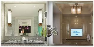 tv bathroom mirror glass tv magic mirror tv behind a mirror from
