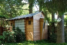 Building Backyard Shed Building Backyard Bbqs Shed Rustic With Garden Design Ideas