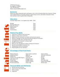 Examples Of Teen Resumes by Free Resume Template By Hloom Com High Resume No Exp