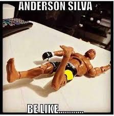 Anderson Silva Meme - anderson silva meme leg silva best of the funny meme