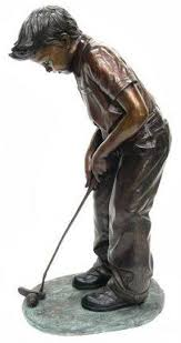golf statues home decorating golf statues home decorating 1000 images about bronze art on