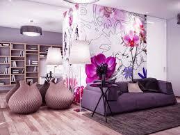Neue Wohnzimmerm El Tapeten Ideen Dass Inklusive Im Tapeten Muster Blumen Dass