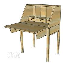 how to make a drop leaf table drop down desk hinge last but not least you can make three mini