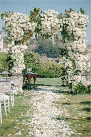 wedding arches flowers incredibly flower wedding arches and alters ideas