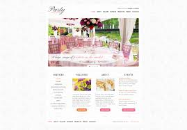 website template 37762 party hire business custom website