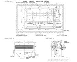 mitsubishi electric cooling and heating mitsubishi electric air conditioning vl 100u5 wall mounted heat